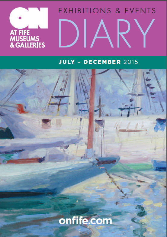 ON at Fife Museums and Galleries brochure, diary, kirkcaldy galleries