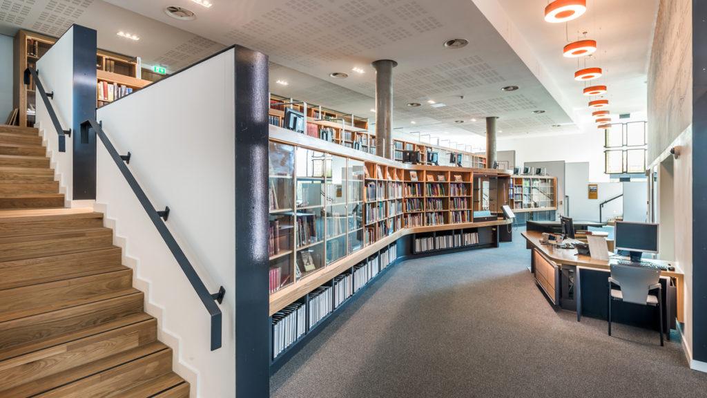 Book shelves at DCLG